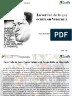 Dossier Venezuela Mnisterio de Relaciones Exteriores