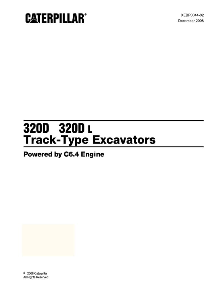 manual cat 320d daily instruction manual guides