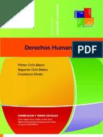 Mapas Curriculares Derechos Humanos