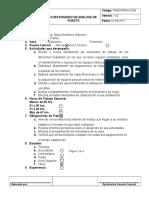 Cuestionario de Analisis de Puesto Ali K.