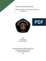Manajemen Strategi Paper