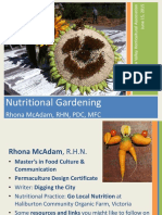 Nutritional Gardening 1