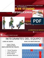 Hipoglicemia Ppt Caso Clinico UCV