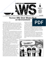 Jun-Jul-Aug 2001 CAWS Newsletter Madison Audubon Society