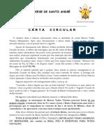 Carta Circular Sobre as Falsas Apariçoes de Jacarei-sp - Marcos Tadeu Teixeira