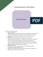 Struktur Organisasi Banquet