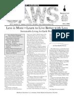 Apr 2002 CAWS Newsletter Madison Audubon Society