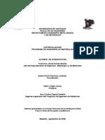 Informe Ingenieria Materiales 2006