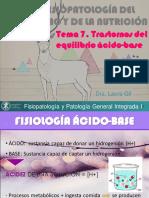 Tema 7. Transtornos Ácido Base