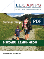 Summer Camp Newsletter 2016-17
