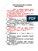 ALM Latihan Vektor,Garis&BidangR3