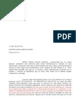 Demanda de Usucapión Damian Munioz