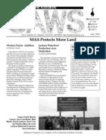 Jun-Jul-Aug 2003 CAWS Newsletter Madison Audubon Society