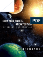 Know Your Planets Know Yourself Astrology Fundamantals