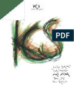 Noël Akchoté, KCS, Mary Halvorson, Joachim Badenhorst, Brad Jones, Han Bennink, - KCS (Kansas City Sessions) (Deluxe Edition) - SongBook - KCS -003