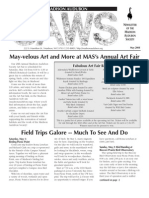 May 2004 CAWS Newsletter Madison Audubon Society