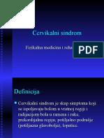 Cervikalni sindrom