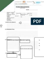 Formato Ficha Psicologica (a)