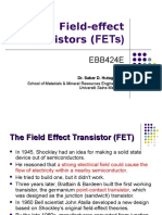 Chapter 2-Field-effect Transistor (FET)