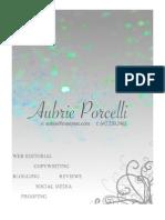 Aubrie Porcelli Portfolio