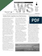 Dec 2004 CAWS Newsletter Madison Audubon Society