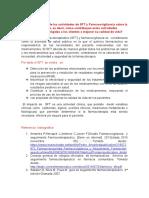 Cuál Es El Impacto de Las Actividades de SFT y Farmacovigilancia Sobre La Salud Pública