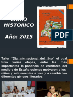 Escuela Nº 405 Libro Historico 2015