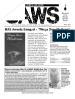 Mar 2005 CAWS Newsletter Madison Audubon Society