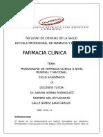 If de Farmacia Clinica