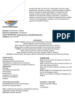 Curriculum Nuevo David