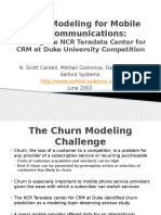 Churn Modeling for Mobile Telecommunicationsnewptt 120220124603 Phpapp02