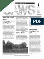 Dec 2005 CAWS Newsletter Madison Audubon Society