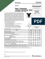 Transistor - 10n100 E