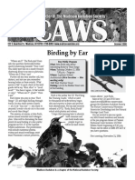 Oct 2006 CAWS Newsletter Madison Audubon Society