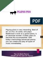 Top 10 Best Pianos In 2017.pptx