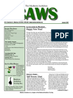 Jan 2007 CAWS Newsletter Madison Audubon Society