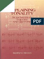 Explaining Tonality- Schenkerian Theory and Beyond   2007.pdf