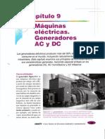 CAP 9 MÁQUINAS ELÉCTRICAS. GENERADORES AC - DC.pdf