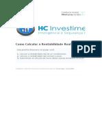 HC Investimentos - Como Calcular a Rentabilidade Real