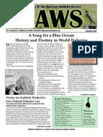 Nov 2007 CAWS Newsletter Madison Audubon Society