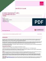 As-Al Sow 9709 04 Mechanics1 m1