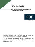 PPT Utopía y Mujer. Gómez, Mosquera&Ot
