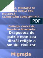 Rep Moldova - Diaspora Migranții Și Cetățenia Dublă Sau Multiplă