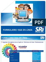 Formulario 102A en Linea