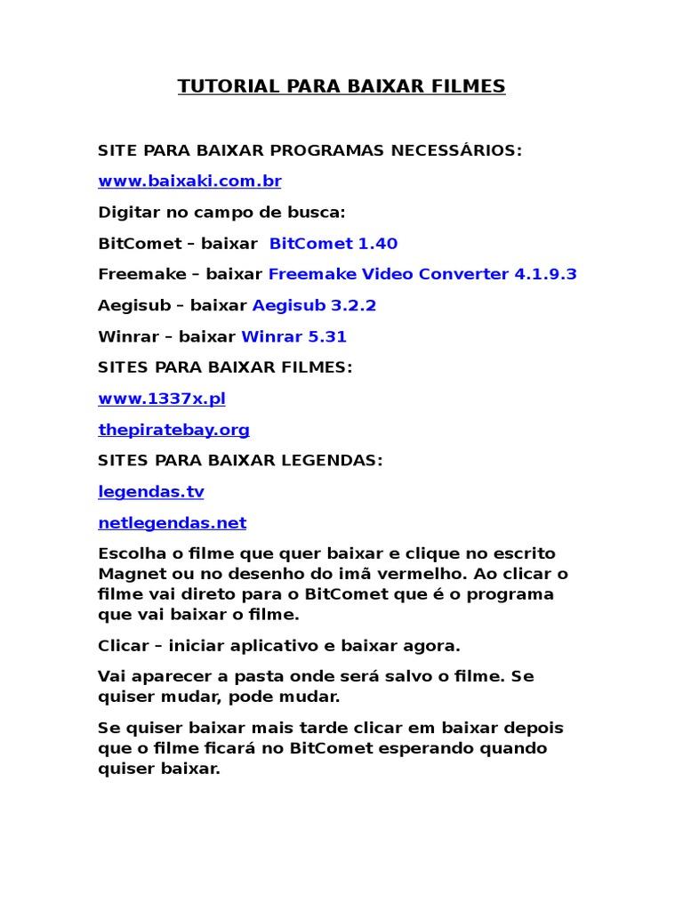 5.0 BAIXAR DIGITANDO