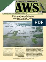 Sep 2008 CAWS Newsletter Madison Audubon Society
