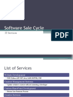 IT Industry Software Sales Cycle