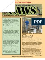Dec 2008 CAWS Newsletter Madison Audubon Society