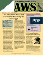 Jan 2009 CAWS Newsletter Madison Audubon Society