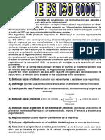 Apunte ( La Iso 9001 2000) Ads